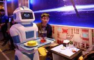 مقهى تديره الروبوتات فقط...