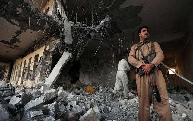 القصف الإيراني على العراق يتسبب بسقوط ضحايا مدنيين