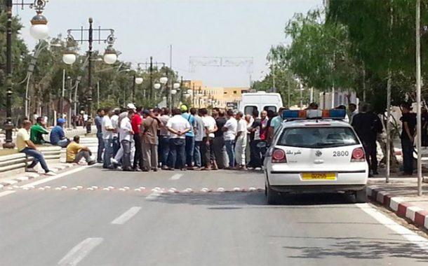 احتجاج عشرات العائلات للمطالبة بالترحيل بسيدي عباد بتسالة المرجة بالعاصمة