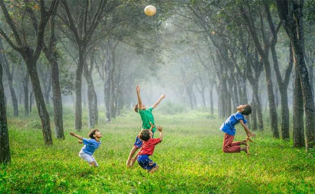 تأثير المساحات الخضراء على نفسية الأطفال...
