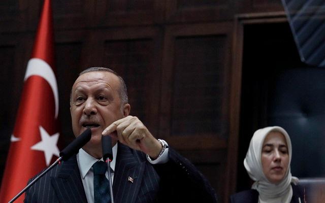 أردوغان أخبرنا روسيا وأمريكا بعزمنا التوغل شمال سوريا