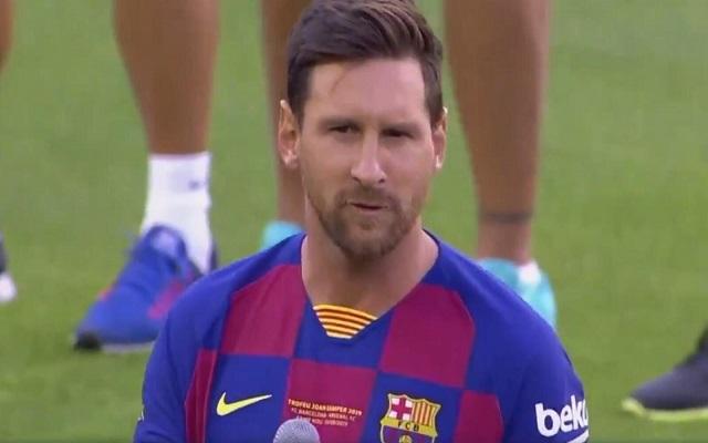 ميسي يغيب عن برشلونة بداعي الإصابة...