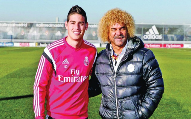 فالديراما ينصح خاميس بترك ريال مدريد لأن زيدان لا يريده...