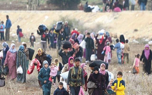 بينما العالم الإسلامي يحتفل بعيد الأضحى نزح 124 ألف مدني سوري