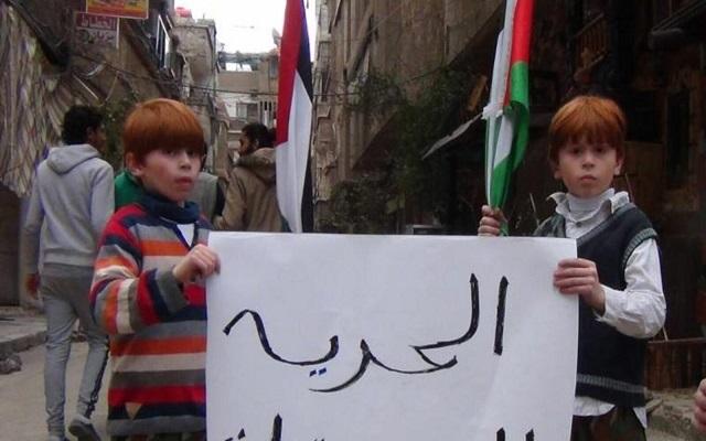 بشار المجرم اعتقل 1800 فلسطيني بينهم 108 نساء