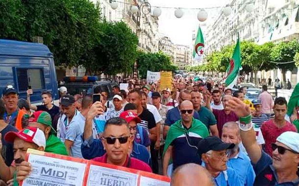 الجمعة الـ 27 من الحراك الشعبي : رفض للجنة الحوار و تشبت برحيل النظام