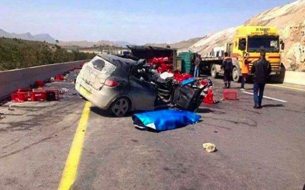 إرهاب الطريق يخلف 16 قتيلا و 25 مصابا في ظرف الـ48 ساعة الأخيرة