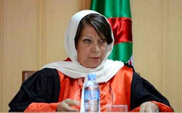 وزير العدل ينصب بن يحي فريدة رئيسة جديدة لمجلس الدولة