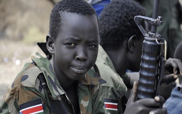 تخوف أممي من تجنيد الأطفال في جنوب السودان