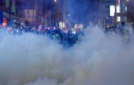 صدامات عنيفة في هونغ كونغ بين الشرطة والمتظاهرون