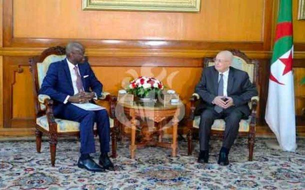 استقبال بن صالح لوزير الشؤون الخارجية التوغولي