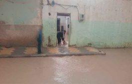 مياه الأمطار تجتاحعشرات المنازل عبر عدة أحياء بتبسة
