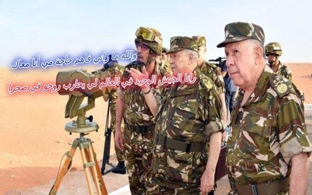 اقتصاد الجزائر ينهار وعلى الشعب قيادة دفّة السفينة بدل من الجنرالات قبل أن يغرق الجميع