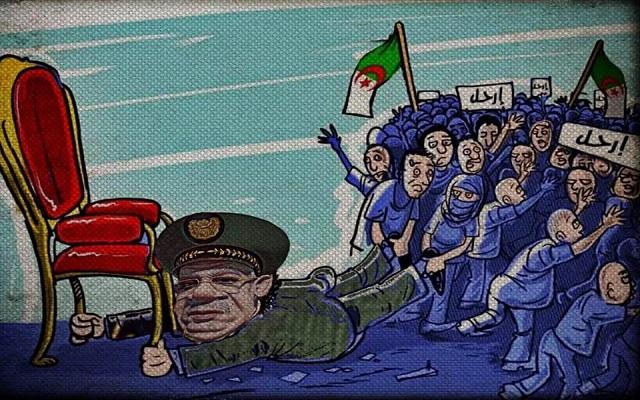القايد صالح يقود انقلاب عسكري على وعي الشعب