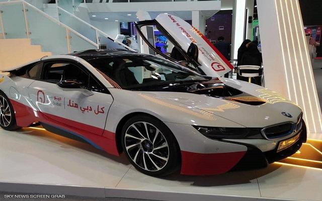الإمارات تكشف عن السيارة