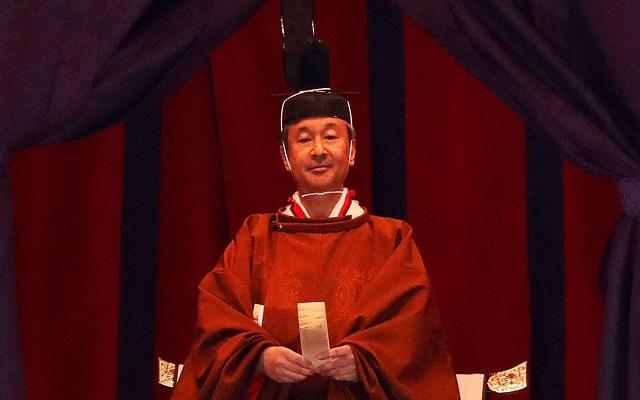ناروهيتو رسميا إمبراطورا  لليابان