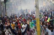 مظاهرات في هايتي  لإسقاط الرئيس