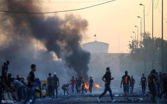 النظام العراقي قام بانتهاكات خطيرة لحقوق الإنسان خلال الاحتجاجات