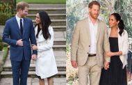 الأمير هاري وميغان ماركل والأمير الصغير