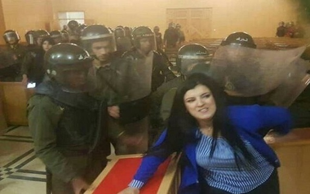 بعد واقعة وهران يجب إصدار مذكرة اعتقال في حق الديكتاتور القايد صالح