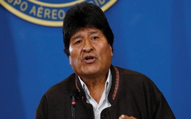موراليس متهم بارتكاب جرائم ضد الإنسانية