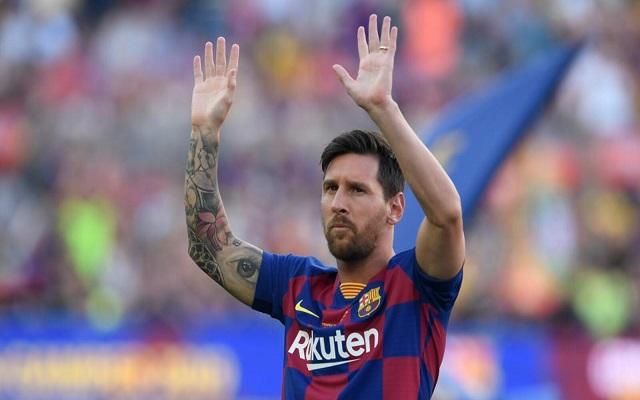 ميسي سيجدد عقده مع برشلونة...