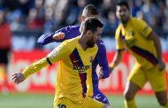 برشلونة يتغلب على ليغانيس بصعوبة...