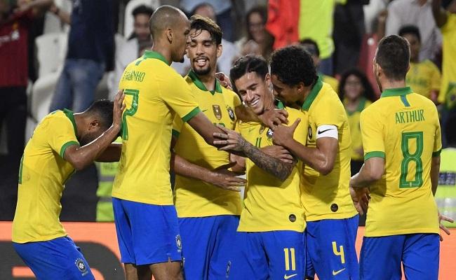 البرازيل تسحق كوريا الجنوبية...