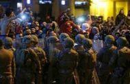 اشتباك بين المتظاهرين المدنيين وعناصر مليشيا حزب الله الإرهابي