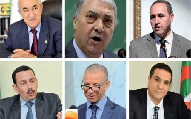 اللجنة المكلفة بانتخابات القايد صالح هؤلاء هم من رضي عليهم حاكم البلاد