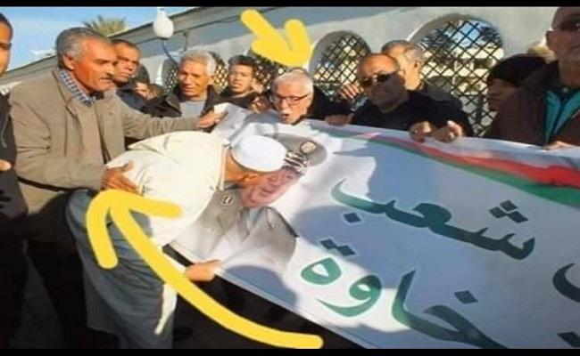 احذروا الخبيث القايد صالح يريد ضرب الشعب بالشعب