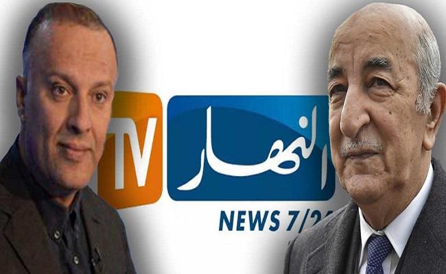 عبد المجيد تبون يهدد كلب الجنرال الراحل القايد صالح