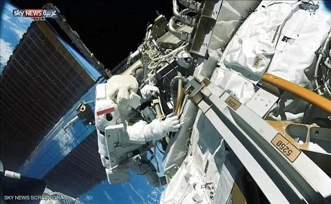 إنهاء عملية إصلاح فضائي بدأت قبل سنوات...