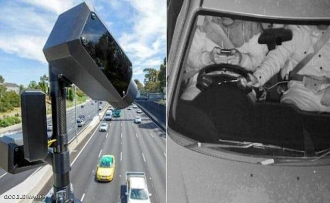 أول كاميرات بالعالم لرصد استخدام الهاتف أثناء القيادة...