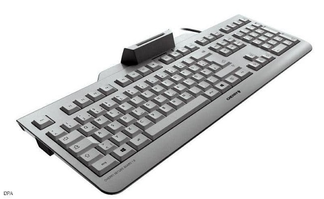 لوحة مفاتيح مشفرة ضد برامج التجسس...
