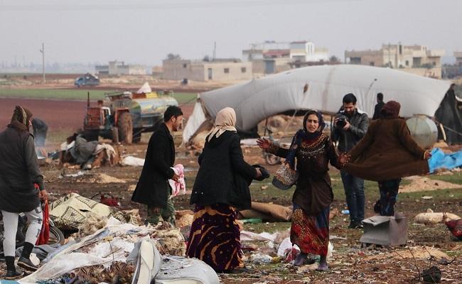 ترامب يدعو لوقف مجازر روسيا وإيران  ضد المدنيين في إدلب