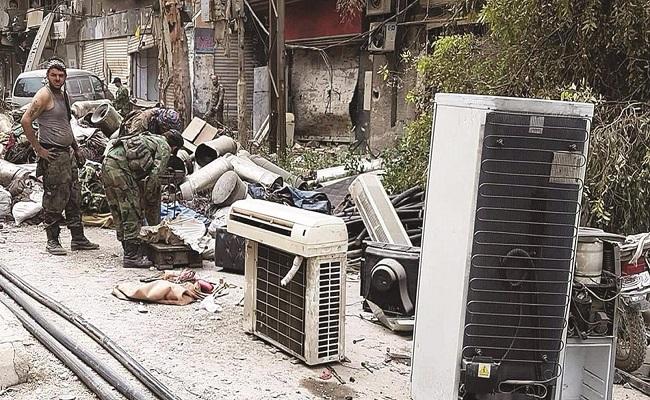 صراع دامي بين مليشيات الأسد على الغنائم