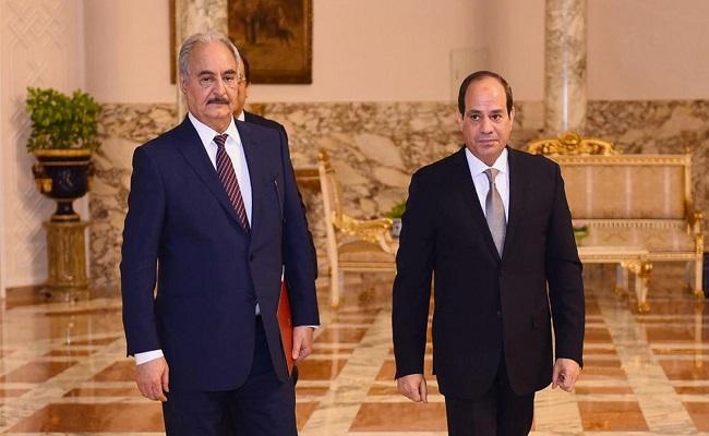السيسي لن نسمح لتركيا بالسيطرة علي ليبيا والسودان