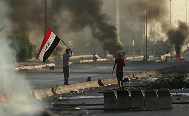 مقتل مئات المتظاهرين منذ بدء الاحتجاجات في العراق