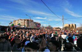 الحراك الشعبي : مسيرات شعبية سلمية عشية الانتخابات رافضة للرئاسيات