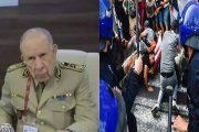 """اللواء سعيد شنقريحة يتوعد بسحق المتظاهرين و """"هيومن رايتس ووتش"""" ترد"""