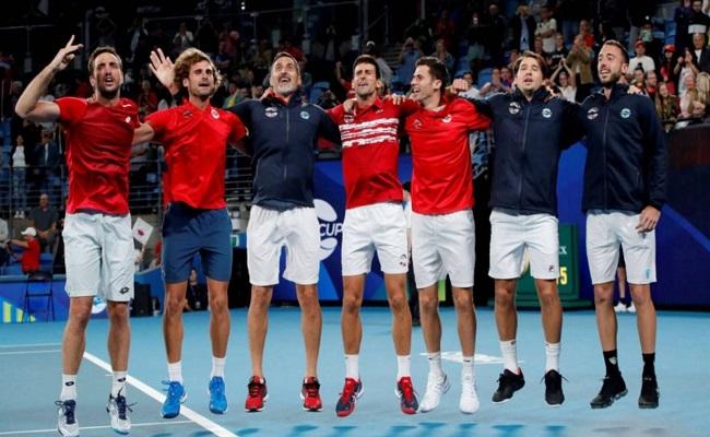 جوكوفيتش يمنح صربيا بالنسخة الأولى من كأس اتحاد التنس...