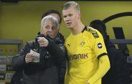 هالاند بات أسرع لاعب في تاريخ الدوري الألماني يسجل 5 أهداف...