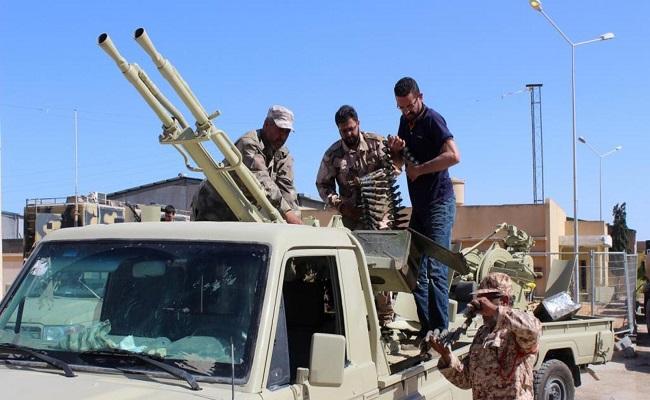 قوات حفتر تتقدم باتجاه مصراتة...
