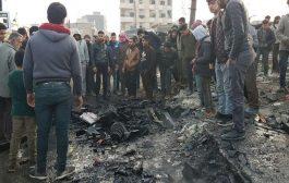 في معقل المعارضة السورية انفجار شاحنة مفخخة يُخلف سبعة قتلى