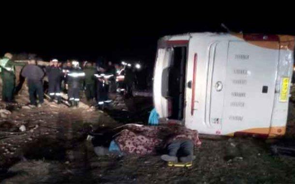 مجزرة مرورية تخلف 5 قتلى و 31 مصابا بالمسيلة