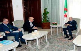 رئيس الجمهورية تبون يستقبل وزير الخارجية الفرنسية لودريون