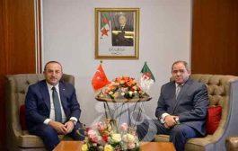 وزير الخارجية بوقدوم يجري محادثات مع نظيره التركي