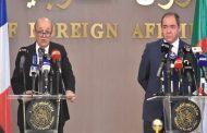 وزير الخارجية الفرنسية لودريون :