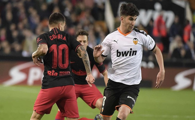 فالنسيا يفرض التعادل على أتلتيكو مدريد...